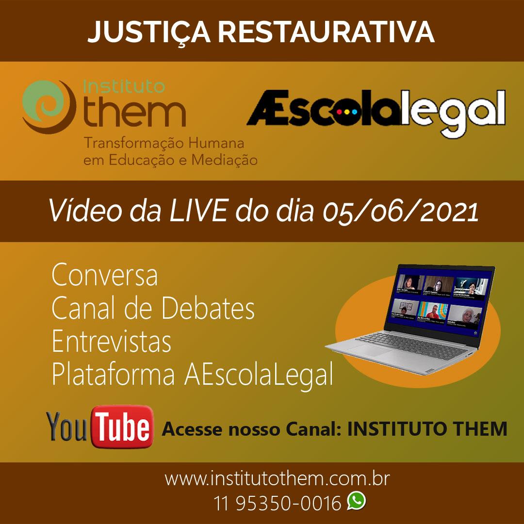 Live Justiça Restaurativa 2021
