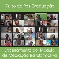 Encerramento do Módulo de Mediação Transformativa